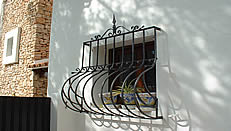Security grills from Techweld Ibiza
